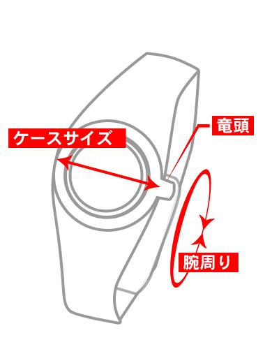 腕時計のサイズ