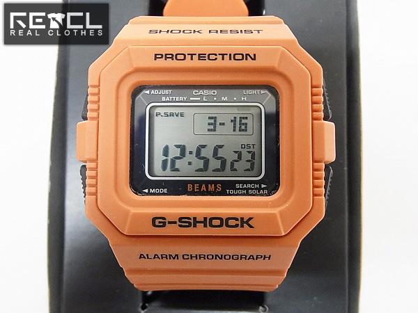 brand new 786ea b747d G-SHOCK/Gショック G-5500BE BEAMS ビームス オレンジ コラボ ...