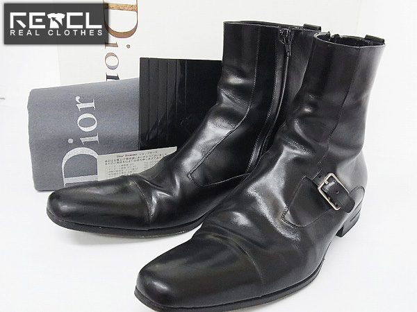 quality design 74aec d5722 Dior Homme/ディオールオム サイドジップブーツ VEAC3475/43買取 ...