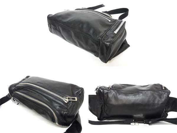 premium selection 150e0 9b53b Dior Homme/ディオールオム レザーウエストバッグ ブラック ...