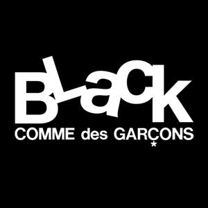 ブラック コムデギャルソンのロゴ