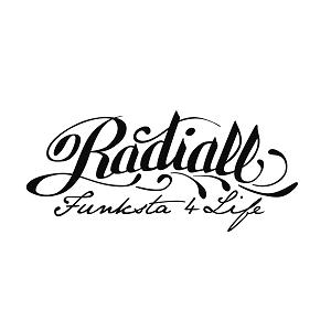 ラディアルのロゴ