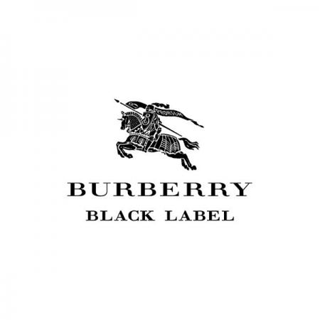 バーバリーブラックレーベルのロゴ