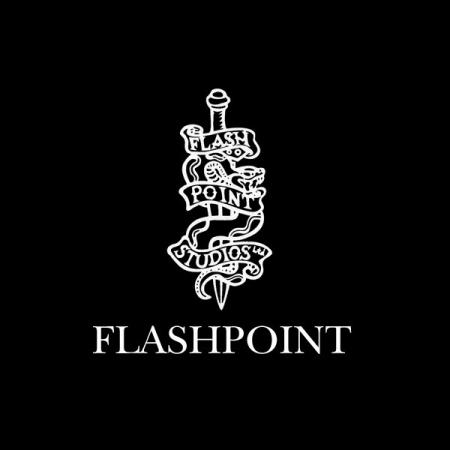 フラッシュポイントのロゴ