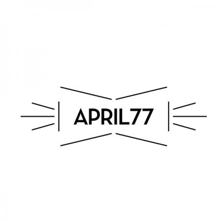 エイプリルセブンティセブンのロゴ