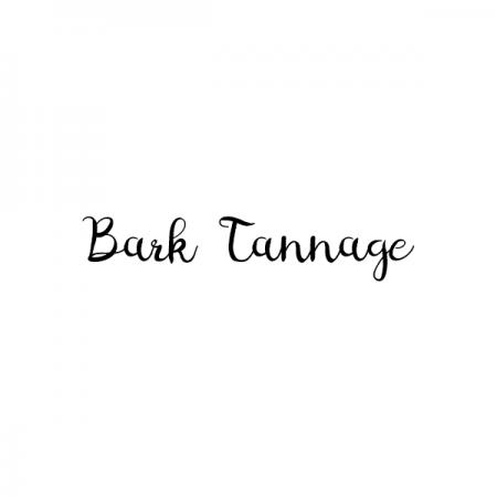 バークタンネイジのロゴ