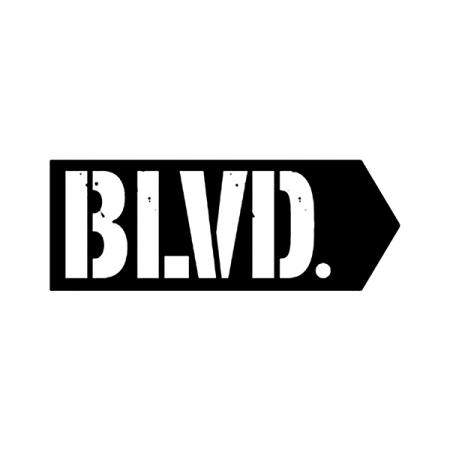 ブルーバードスケートボードのロゴ