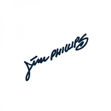 ジムフィリップスのロゴ